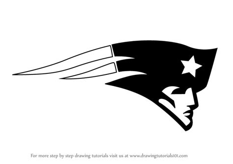 New Drawing Learn How To Draw New Patriots Logo Nfl Step By
