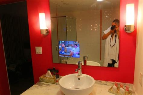 tv for bathrooms reviews tv in bathroom mirror this is not a standard room u
