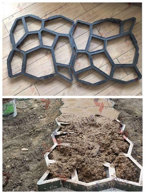 Cement Decorative Molds by Diy Concrete Stepping Mold View Concrete Plastic