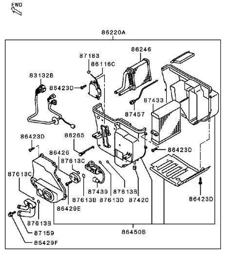 mitsubishi oem parts diagram pls l a mitsubishi montero 2002 bust my right rear