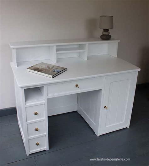 bureau ik饌 blanc bureaux de style