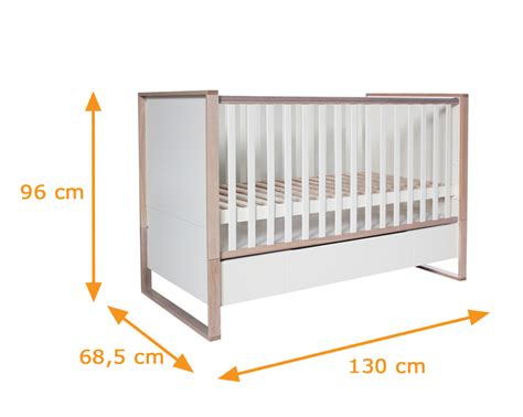 What Size Is A Toddler Bed by Natura Collection Cot Bed Scandinavian Style Baby Cot With