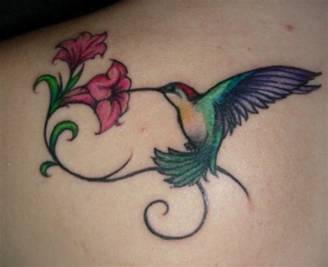 hummingbird with flower tattoo designs 25 unique hummingbird tattoos