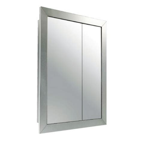 recessed mirror cabinet be inspired by a country style product detail wr a5776 stainless steel surface recessed