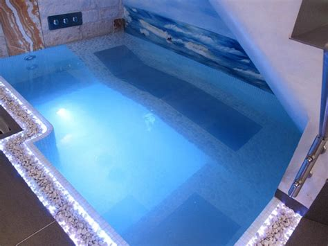 camere con piscina interna minipiscina idromassaggio in luxury suite con