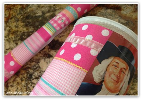 Decorate My House by Diy Valentine Box Craft Upcycled Oatmeal Container