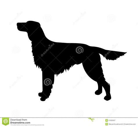 Vector Dog Silhouette, Irish Setter Stock Vector - Image ...