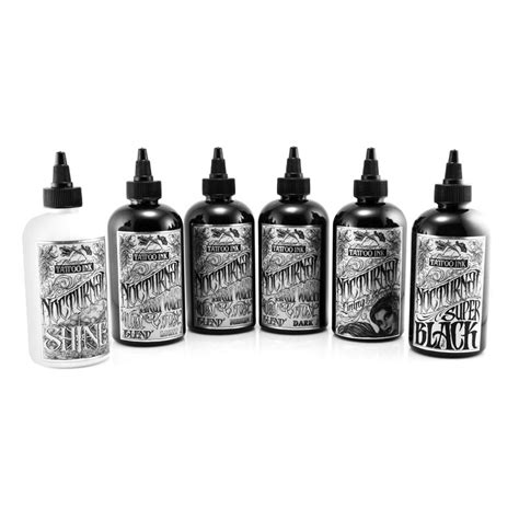 tattoo ink suppliers saltwater tattoo supply nocturnal premium tattoo ink