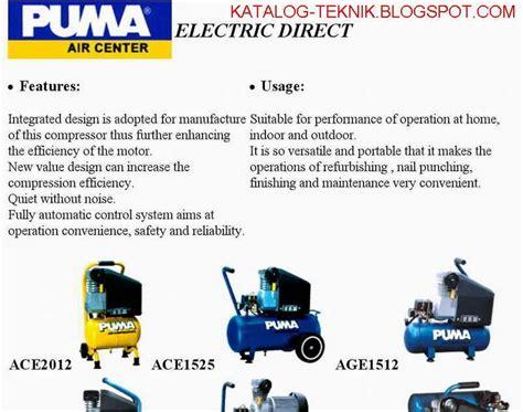 Obeng Merk Elora katalog teknik air compressor