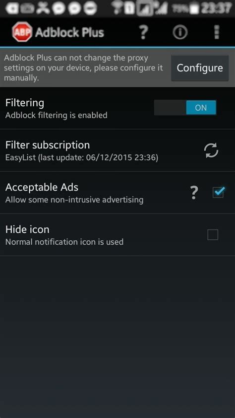 ad block for android how to configure adblock plus for android