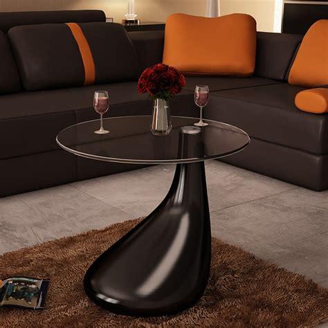 ikea glastisch schwarz vidaxl design couchtisch schwarz beistelltisch glas real