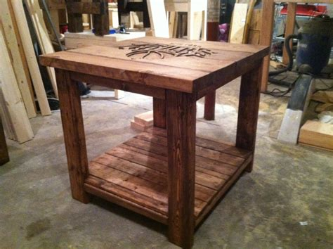 end table ideas ana white rustic logo end table diy projects