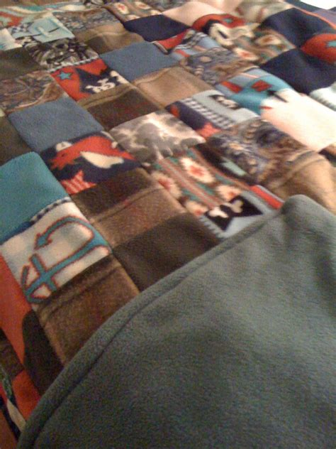 Fleece Quilt Pattern by Fast Cheap And Sustainability One Choice At A Time Fleece Patchwork Un Quilt