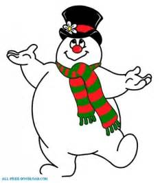 frosty snowman picture frosty snowman free clipart