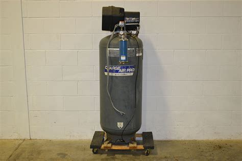 Stand Galon Air charge air pro 5hp 60 gallon cylinder air compressor