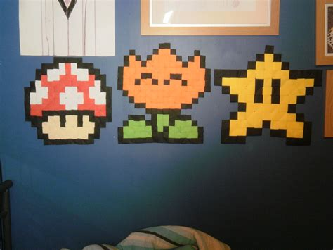 Origami Mario - origami mario items by fuzzymo1994 on deviantart