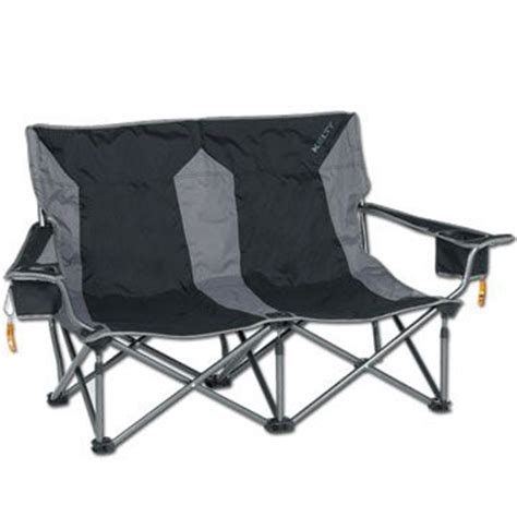 loveseat folding chair kelty low love two person cing chair c chairs