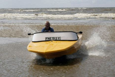 boat made into car car made from speedboat turned into del boy boatmobile