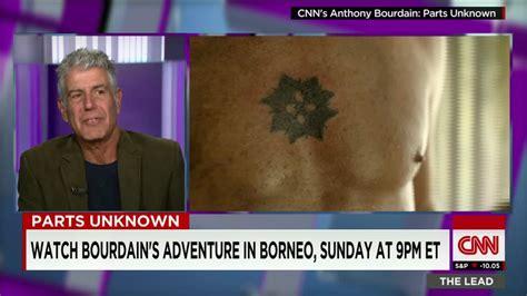 anthony bourdain tattoos bourdain s drunken adventure on an asian island