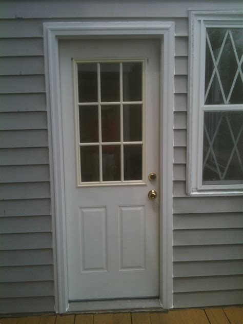 exterior door moulding carpentry photos bmore handyman
