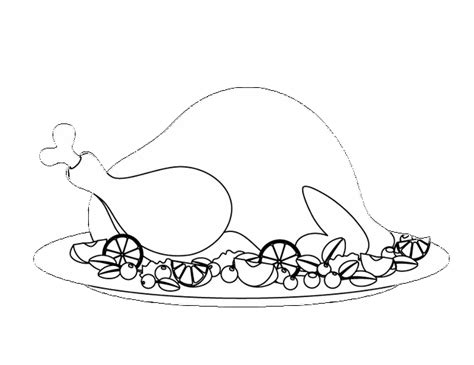 cooked turkey coloring page free redirecting to http www sheknows com parenting slideshow