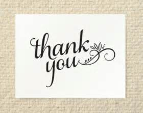 diy thank you card cherish script printable pdf template wedding shower personal