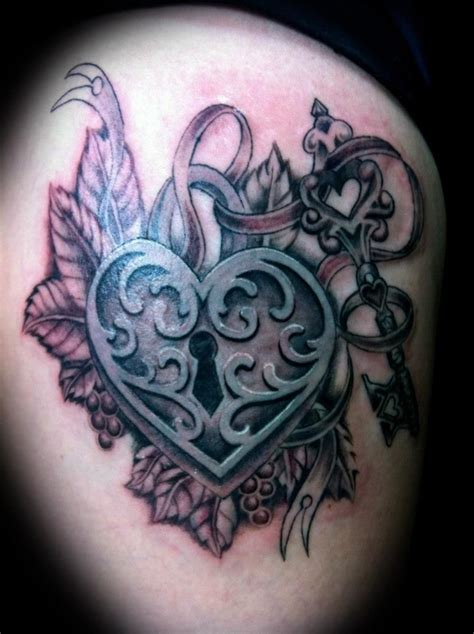 locket and key tattoo designs locket i like inspiration