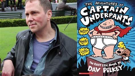 dav pilkey captain underpants dav pilkey on how he learned to reading booktrust