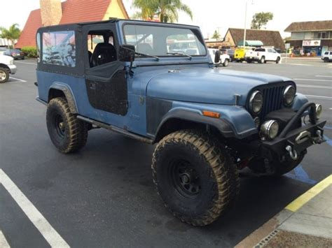 amc jeep scrambler 1982 amc jeep scrambler cj8 cj 8 for sale photos