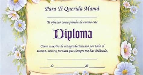 diplomas de madre diplomas para mama diplomas para las mamis pinterest