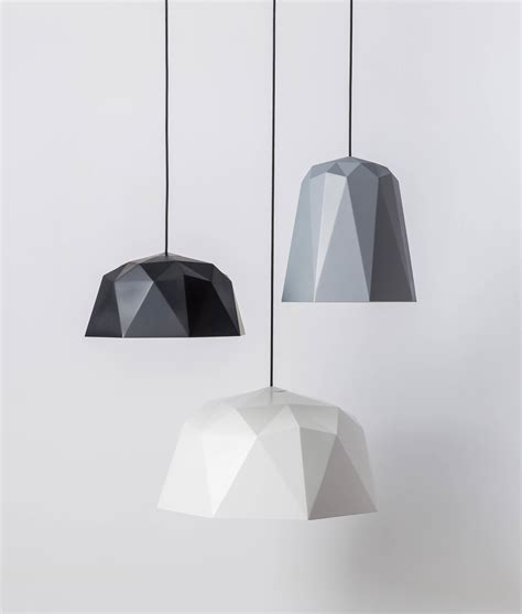 geometric ceiling light geometric pendant light kyoto black