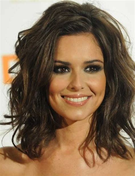 hairstyles dark hair medium length 20 popular wavy medium hairstyles hairstyles haircuts