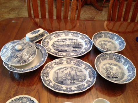 Historical Ports of England Antique Dishes   PTCI Classifieds