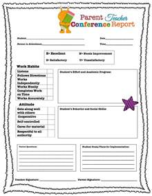 reminder templates for teachers living laughing loving parent conference forms