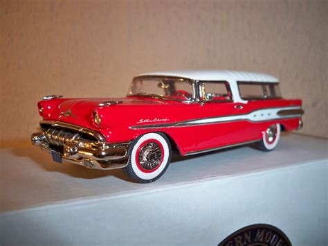 model cars 1957 pontiac chief safari iii model cars hobbydb