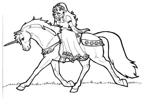 imagenes de unicornios bebes para colorear dibujo para colorear princesa shamrock en unicornio img 6023