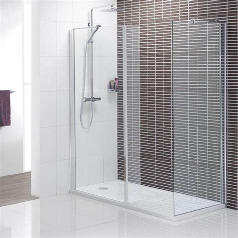 Walk In Shower Wall Options Black Striped Wall Tile For Minimalist Walk In Shower