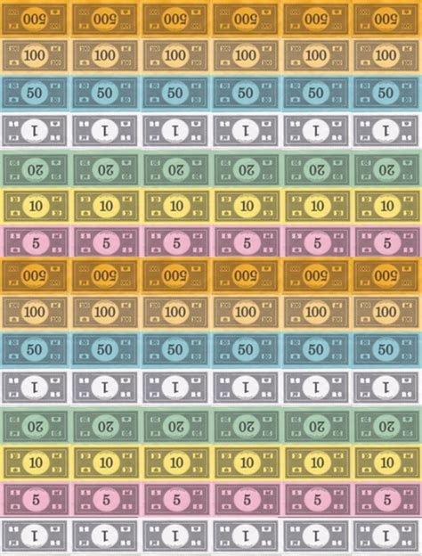 monopoly money colors a different twist on monopoly on my creative side