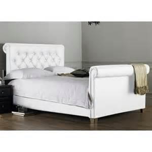 lit capitonne blanc 140 190 dans lit achetez au
