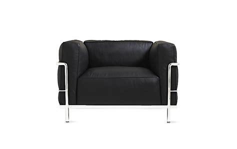 lc grand modele armchair   cushions design  reach