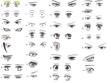 anime eyes 33 manga and anime character eye references daily anime art