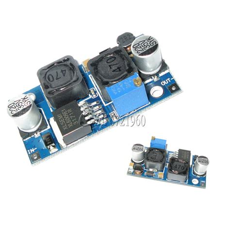 Auto Buck Boost Xl6009 Dc Step Up Converter 125v35v Board dc dc boost buck adjustable step up converter xl6009 module solar voltage ebay