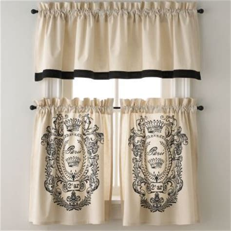jcpenney cafe curtains french curtains jcpenney future home pinterest