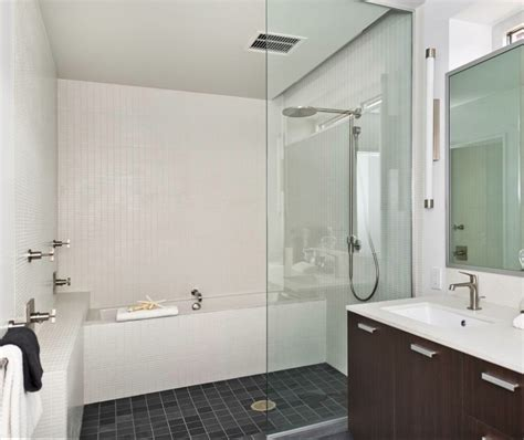bathroom tubs and showers ideas idea for fitting bathtub walk in shower in a small space