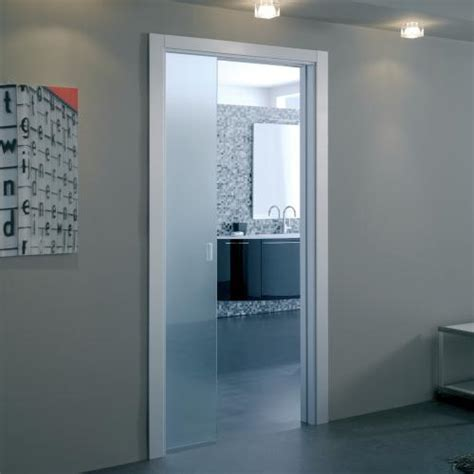 eclisse glass doors eclisse single glass pocket door complete package 100mm wall thickness