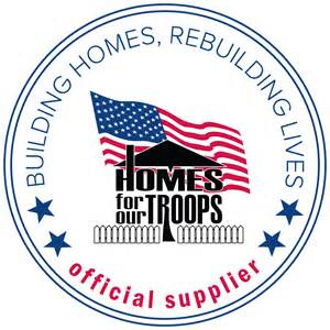 homes for our troops budget blinds partners with homes for our troops to