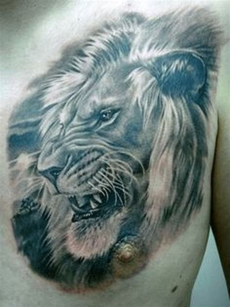 lion roar tattoo top 30 excellent roaring ideas 2018