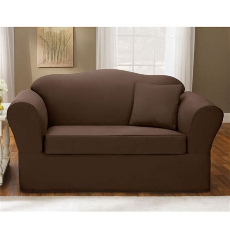 couch cover for sectional sofa brown sofa cover modern solid color brown sofa slipcover