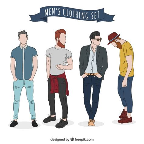 mens fashion vectors photos and psd files free