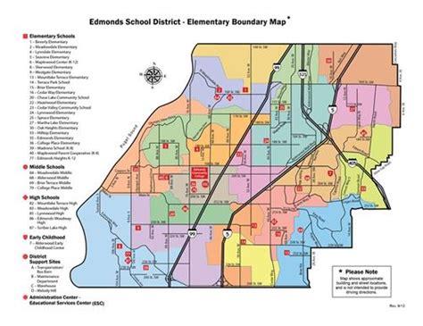 feeder pattern in spanish boundary maps feeder patterns edmonds school district